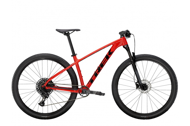 TREK horské kolo X-caliber 8 2021 Radioactive Red/Trek Black