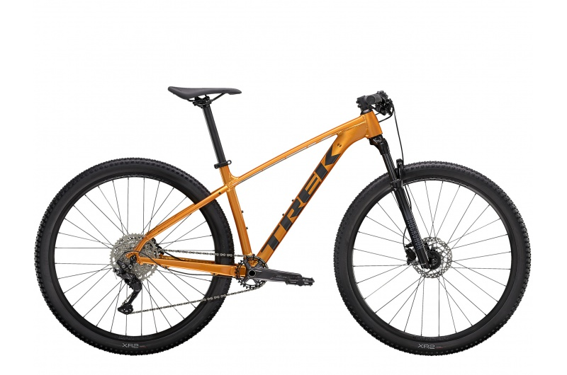 TREK horské kolo X-caliber 7 2021 Factory Orange/Lithium Grey