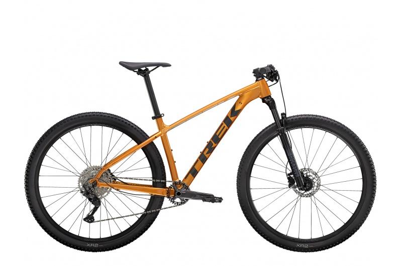 TREK horské kolo X-caliber 7 2021 Factory Orange/Lithium Grey