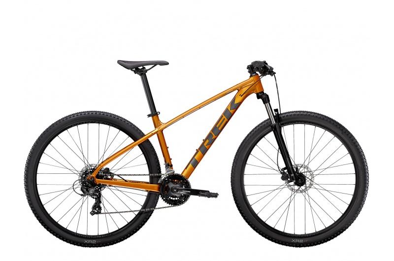 TREK horské kolo Marlin 5 2021 Factory Orange/Lithium Grey