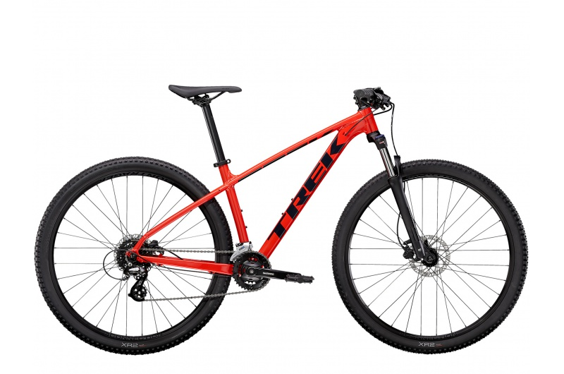 TREK horské kolo Marlin 6 2021 Radioactive Red/Trek Black