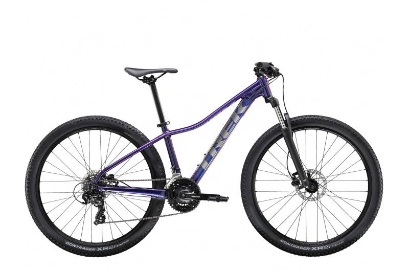 TREK horské kolo dámské Marlin 5 2021 Purple Flip