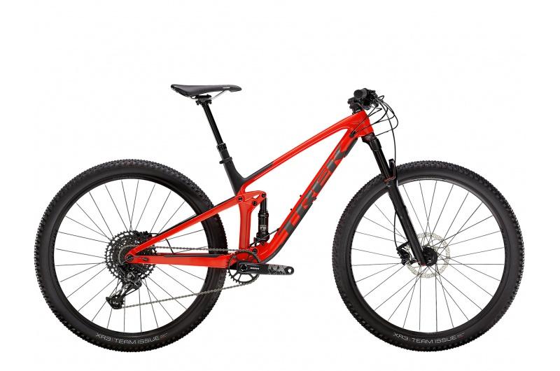 TREK horské kolo Top Fuel 8 NX 2021 Gloss Red/Matte Carbon Smoke