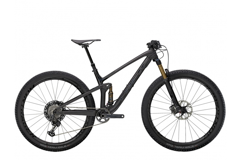 TREK horské kolo Top Fuel 9.9 XTR 2021 Matte Raw Carbon/Voodoo Trek Black