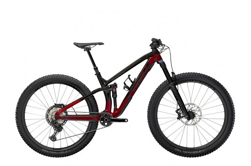 TREK horské kolo Fuel EX 9.8 XT 2021 Raw Carbon/Rage Red