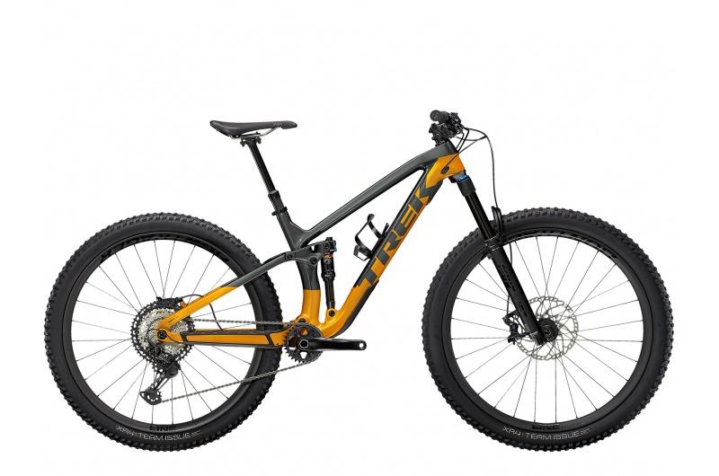TREK horské kolo Fuel EX 9.8 XT 2021 Lithium Grey/Factory Orange