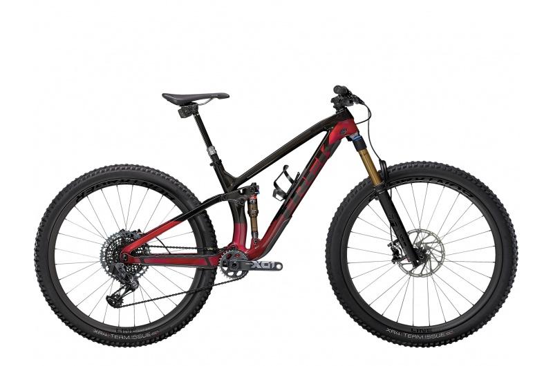 TREK horské kolo Fuel EX 9.9 X01 AXS 2021 Raw Carbon/Rage Red