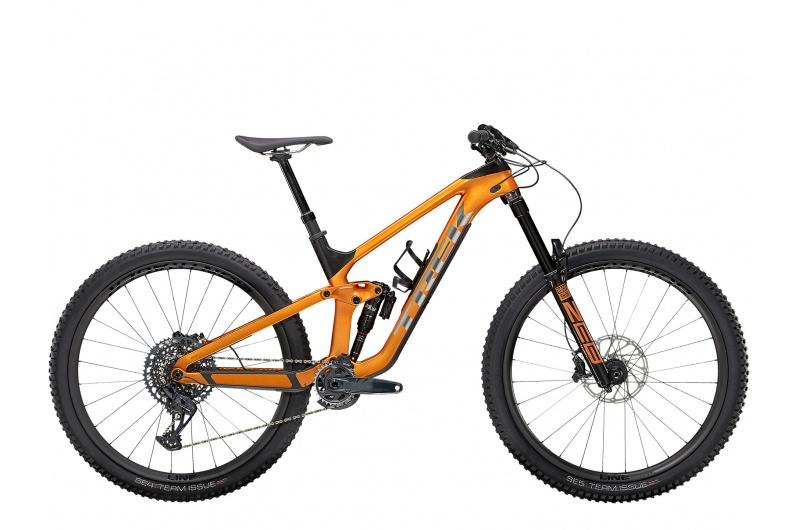 TREK horské kolo Slash 9.8 GX 2021 Factory Orange/Carbon Smoke