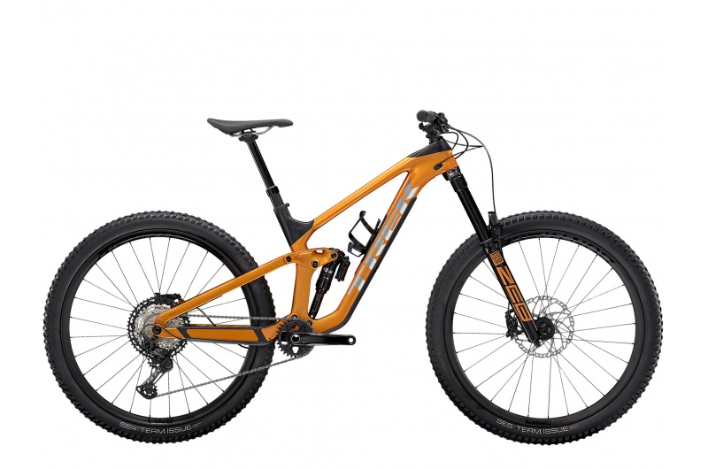 TREK horské kolo Slash 9.8 XT 2021 Factory Orange/Carbon Smoke