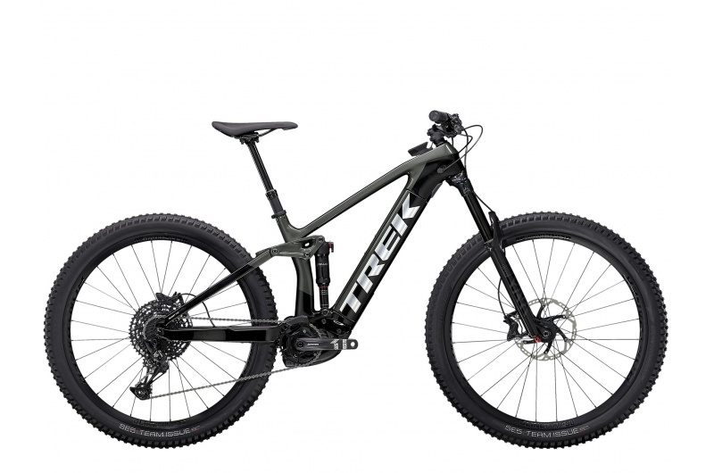 TREK elektrické kolo Rail 9.7 NX 2021 Lithium Grey/Trek Black