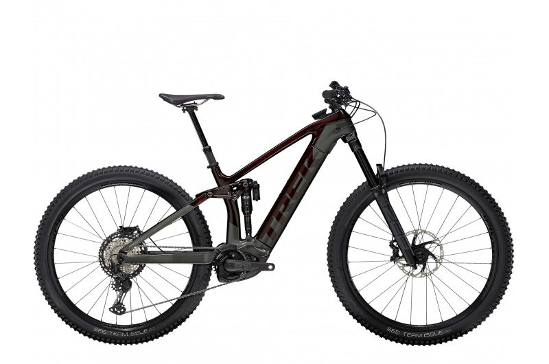 TREK elektrické kolo Rail 9.8 XT 2021 Carbon Red Smoke/Lithium Grey