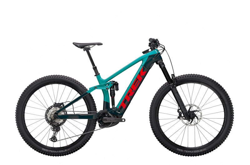 TREK elektrické kolo Rail 9.8 XT 2021 Teal/Nautical Navy