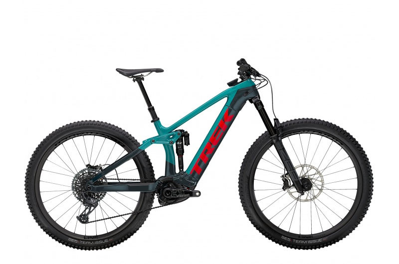 TREK elektrické kolo Rail 9.9 XTR 2021 Teal/Nautical Navy