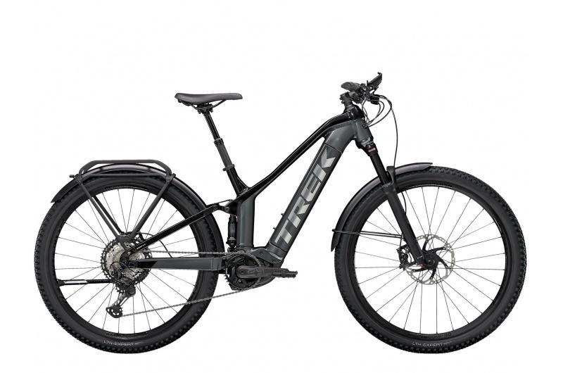 TREK elektrické kolo Powerfly FS 9 Equipped 2021 Lithium Grey/Trek Black