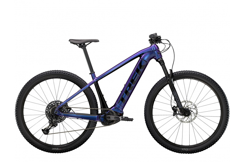 TREK elektrické kolo Powerfly 5 2021 Purple Flip/Trek Black