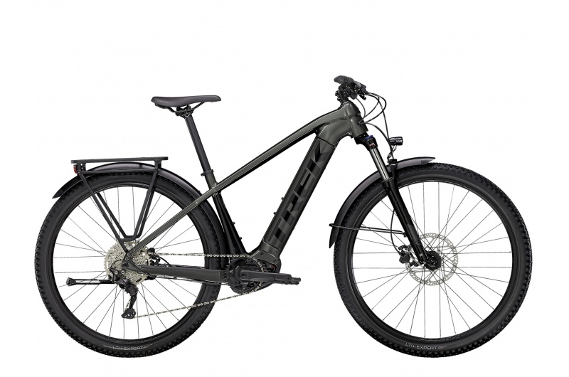 TREK elektrické kolo Powerfly Sport 4 Equipped 2021 Lithium Grey/Trek Black