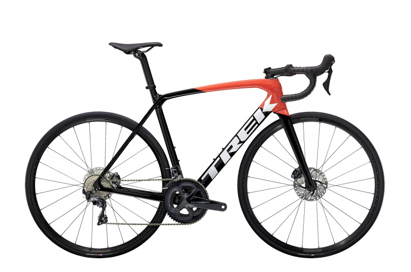 TREK silniční kolo Émonda SL 6 2021 Trek Black/Radioactive Red