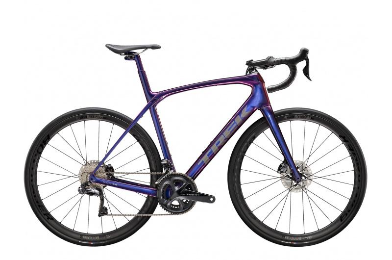 TREK silniční kolo Domane SLR 7 2021 Purple Phaze/Anthracite