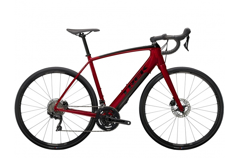 TREK silniční elektro koloDomane+ ALR 2021 Crimson Red/Trek Black