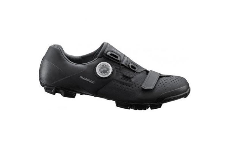 SHIMANO cyklistické tretry SH-XC501 černé
