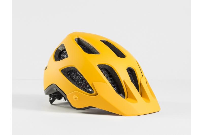 Horská cyklistická přilba Bontrager Rally WaveCel Marigold/Black