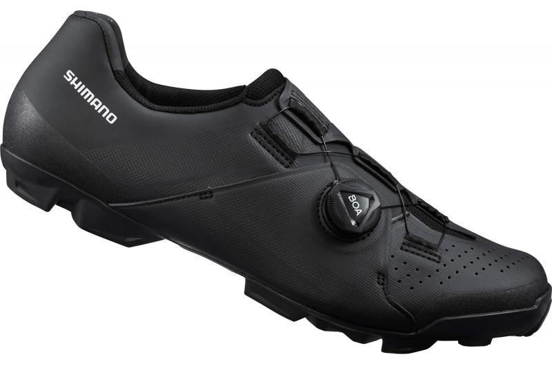 SHIMANO cyklistické tretry XC301, černé
