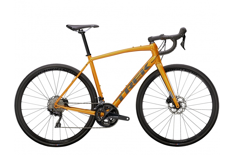TREK silniční kolo Domane AL 5 Disc 2021 Factory Orange/Lithium Grey