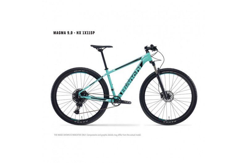 BIANCHI horské kolo MAGMA 9.0 NX 1X11 YQBW6I6K 2021