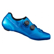 SHIMANO cyklistické tretry SH-RC902 modrá