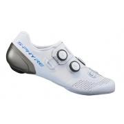 SHIMANO cyklistické tretry SH-RC902 bílá