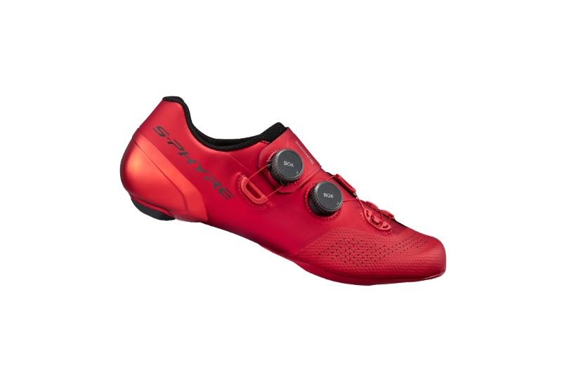 SHIMANO cyklistické tretry SH-RC902 červená