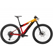 TREK elektrokolo E-Caliber 9.8 GX 2021 Marigold/Radioactive Red/Black