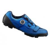 SHIMANO cyklistické tretry SH-XC501 modré