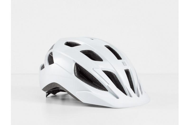 Cyklistická přilba Bontrager Solstice MIPS Crystal White; / Lesklý S/M