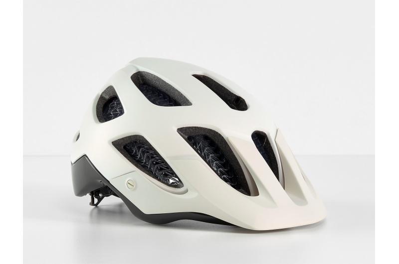 Horská cyklistická přilba Bontrager Blaze WaveCel Era White/Black Olive; / Matný/Lesklý S
