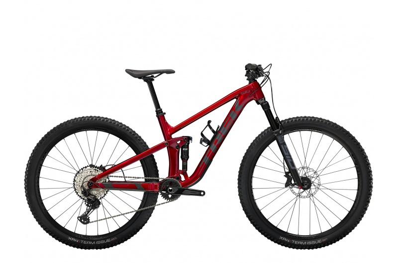 TREK elektrické kolo Top Fuel 8 2022 Crimson