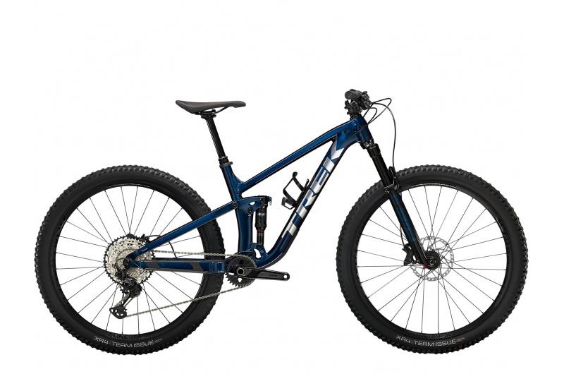 TREK elektrické kolo Top Fuel 8 2022 Mulsanne Blue