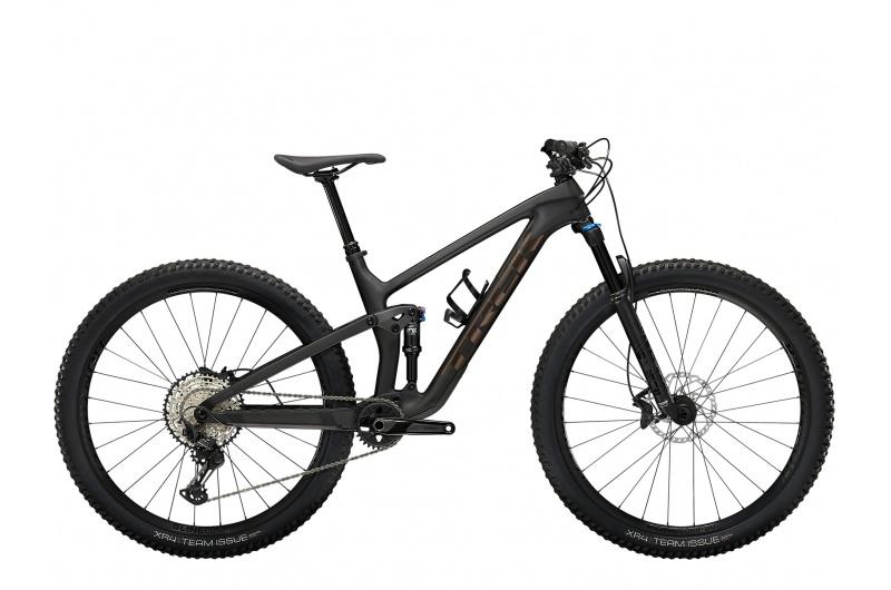 TREK elektrické kolo Top Fuel 9.7 2022 Matte Raw Carbon