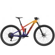 TREK elektrické kolo Top Fuel 9.9 XX1 AXS 2022 Marigold to Red to Purple Abyss Fade
